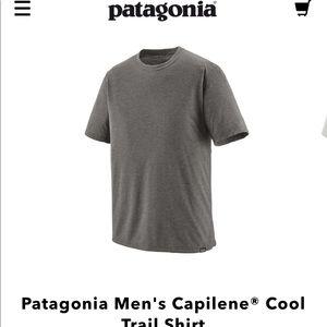 Patagonia Capilene Cool Trail Shirt Gray XL